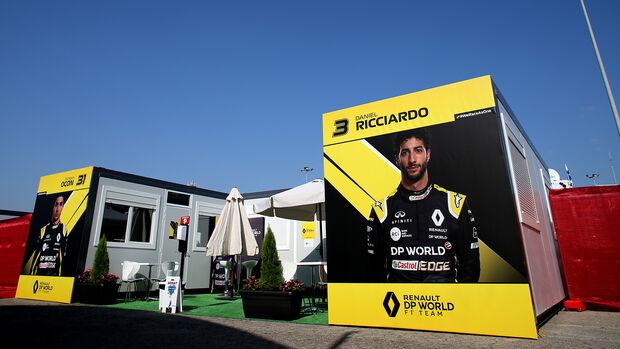 Renault - Formel 1 - GP Spanien - Barcelona - Donnerstag - 13. August 2020