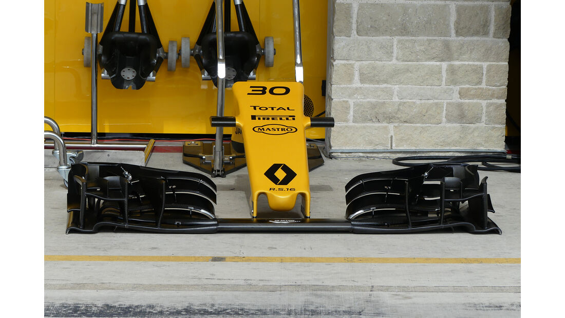 Renault - Formel 1 - GP USA - Austin - 19. Oktober 2016