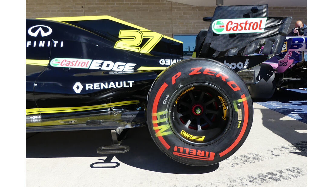 Renault - Formel 1 - GP USA - Austin - 31. Oktober 2019