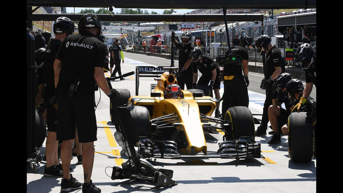 Renault - Formel 1 - GP Ungarn - 22. Juli 2016