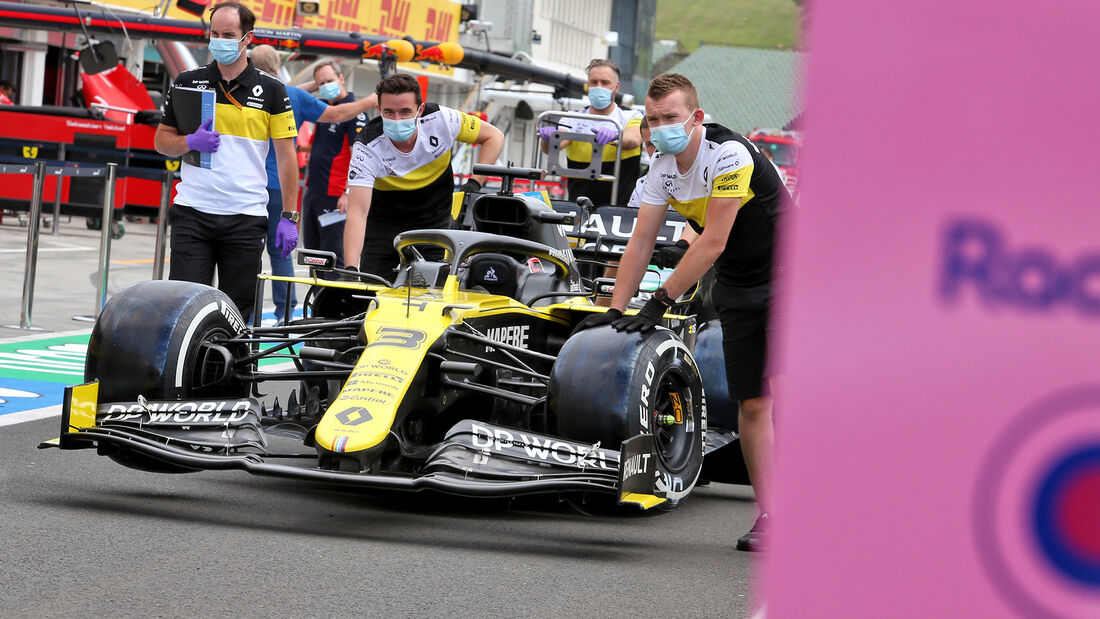 Renault - Formel 1 - GP Ungarn - Budapest - 16. Juli 2020
