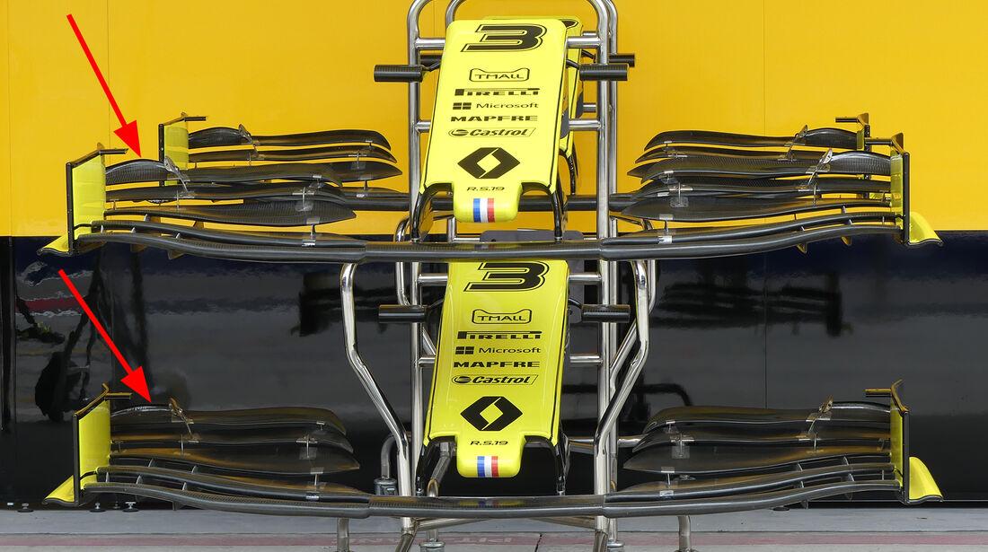 Renault - Formel 1 - Technik - GP Australien / GP Bahrain 2019