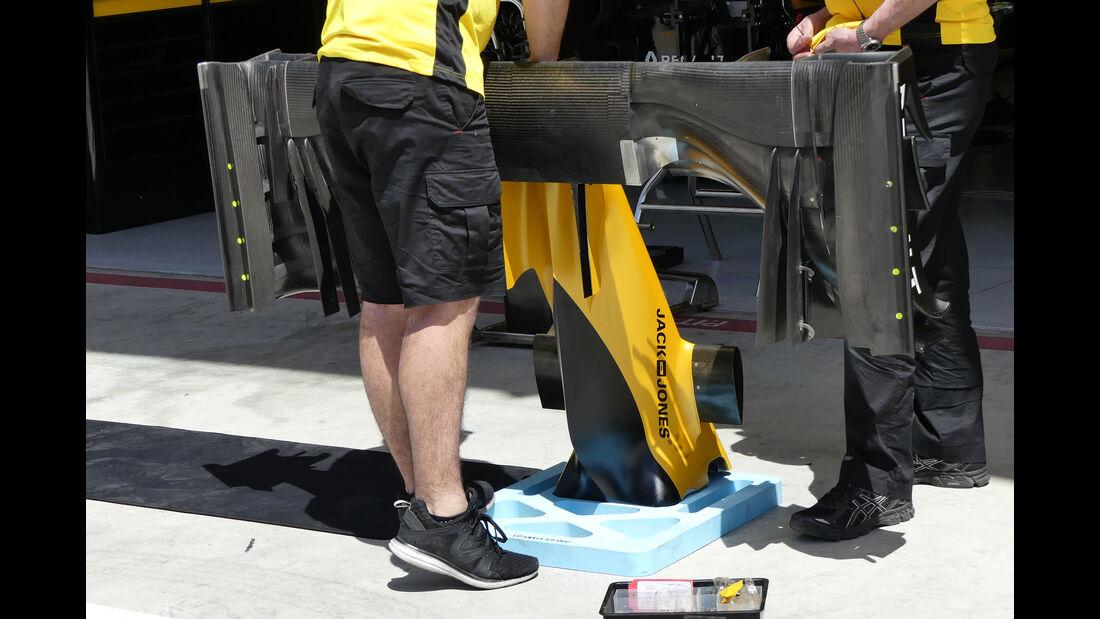 Renault - Formel 1 - Technik - GP Bahrain 2016