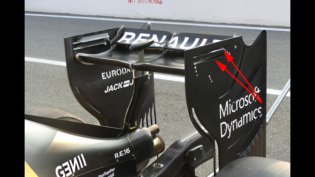 Renault - Formel 1-Technik - GP Belgien / GP Italien - 2016