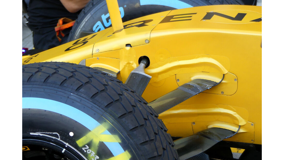 Renault - Formel 1 - Technik - GP Malaysia / GP Japan - 2016