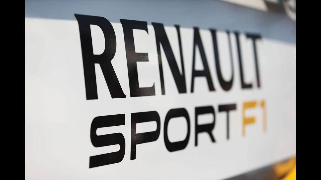Renault - Formel 1-Test - Barcelona - 20. Februar 2015