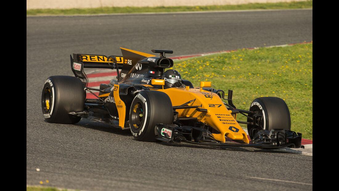 Renault - Formel 1 - Test - Barcelona - 2017