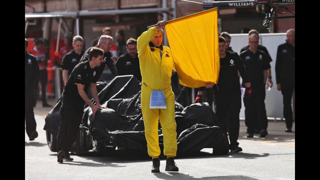 Renault - Formel 1-Test - Barcelona - 23. Februar 2016
