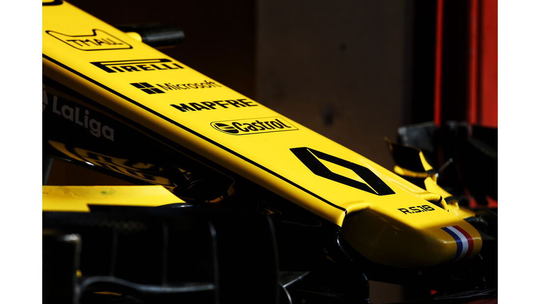 Renault - Formel 1 - Testfahrten - Barcelona - 15.5.2018