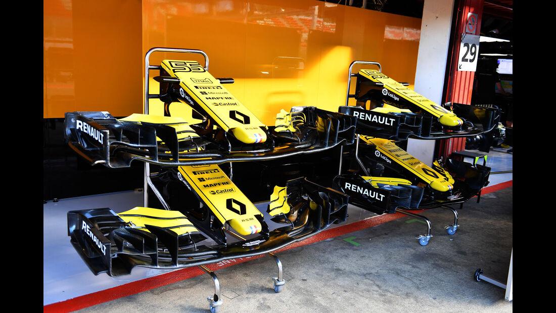 Renault - Formel 1 - Testfahrten - Barcelona - Dienstag - 15-5-2018