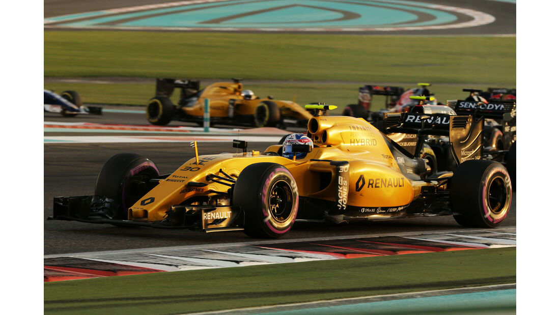 Renault - GP Abu Dhabi 2016