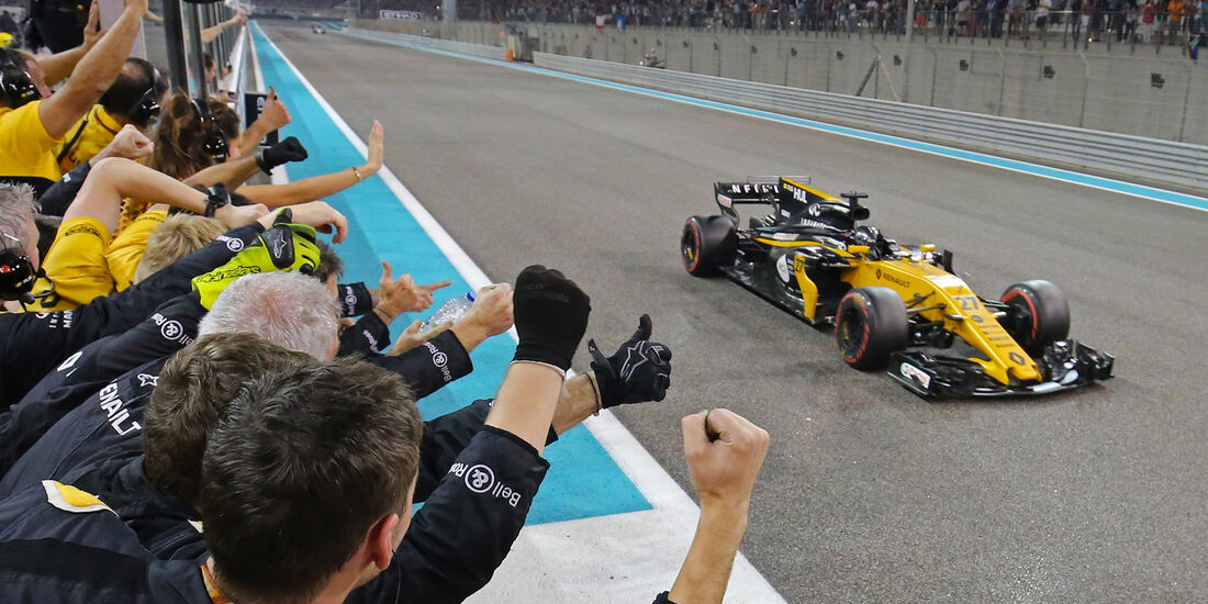 Renault - GP Abu Dhabi 2017