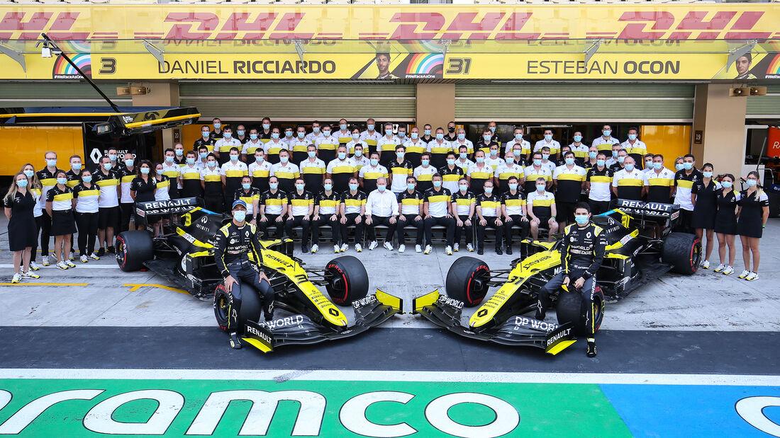 Renault - GP Abu Dhabi 2020 - Rennen
