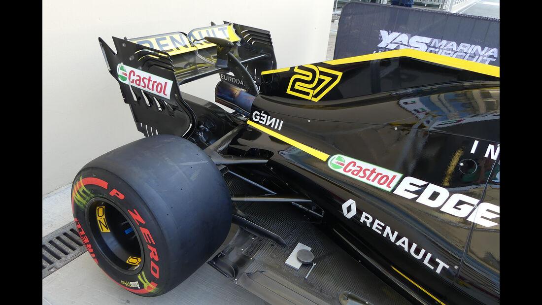Renault - GP Abu Dhabi - Formel 1 - 22. November 2018