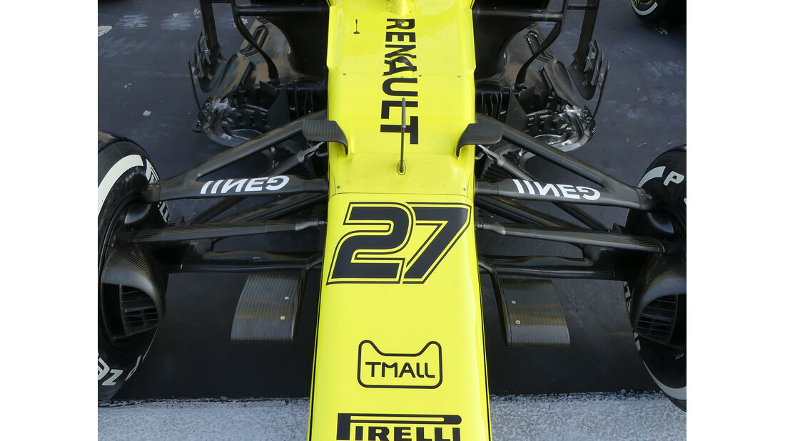 Renault - GP Abu Dhabi - Formel 1 - Donnerstag - 28.11.2019