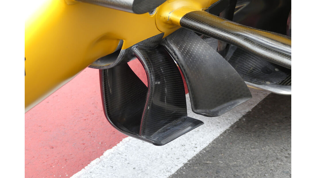 Renault - GP Aserbaidschan 2017 - Baku - Technik-Updates