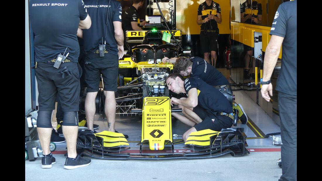Renault - GP Australien 2018 - Melbourne - Albert Park - Freitag - 23.3.2018