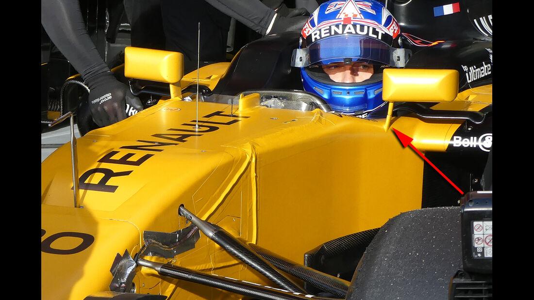 Renault - GP Australien - Formel 1 - Technik - 2017