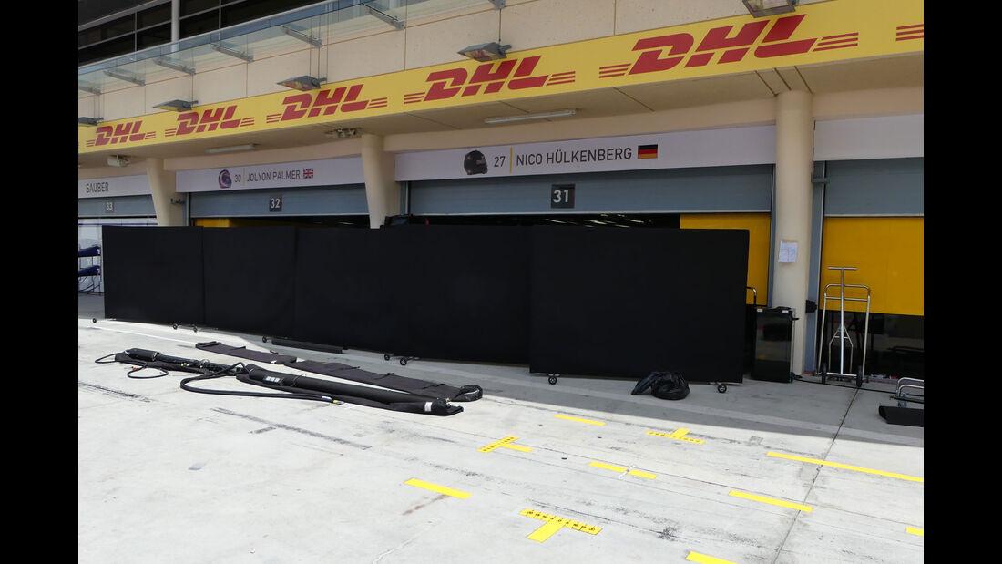 Renault - GP Bahrain - Sakhir - Mittwoch - 12.04.2017