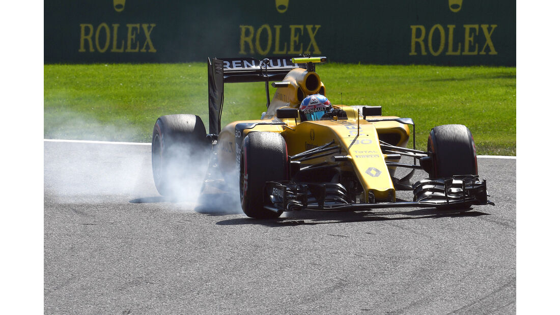 Renault - GP Belgien 2016