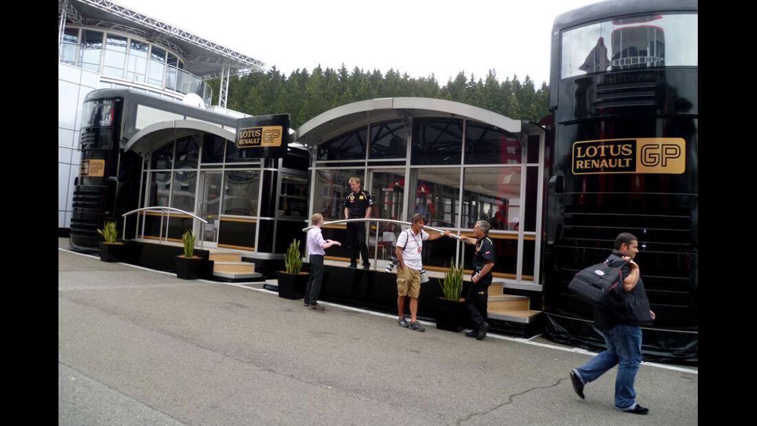 Renault - GP Belgien - 25. August 2012