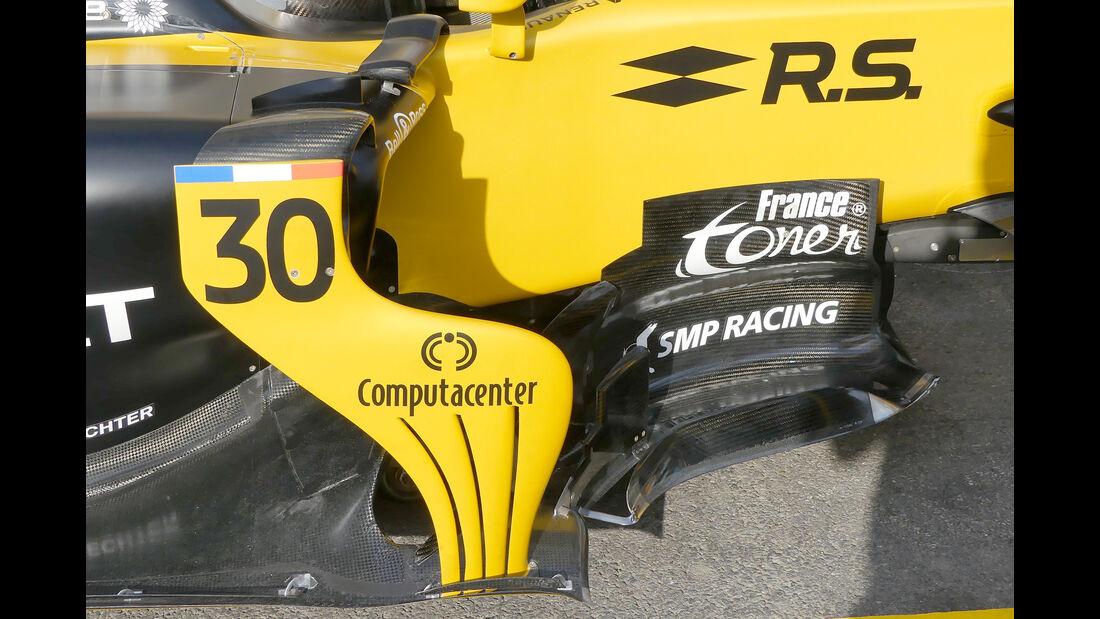 Renault - GP Belgien - Spa-Francorchamps - Formel 1 - 24. August 2017