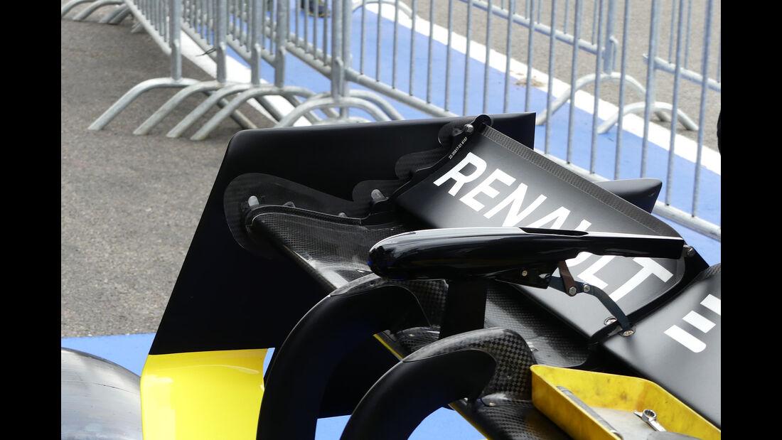 Renault - GP Belgien - Spa-Francorchamps - Formel 1 - Donnerstag - 29.8.2019