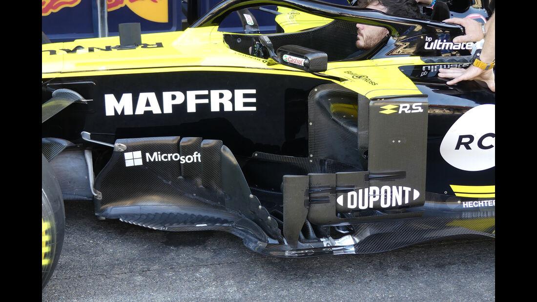 Renault - GP Belgien - Spa-Francorchamps - Formel 1 - Freitag - 30.08.2019