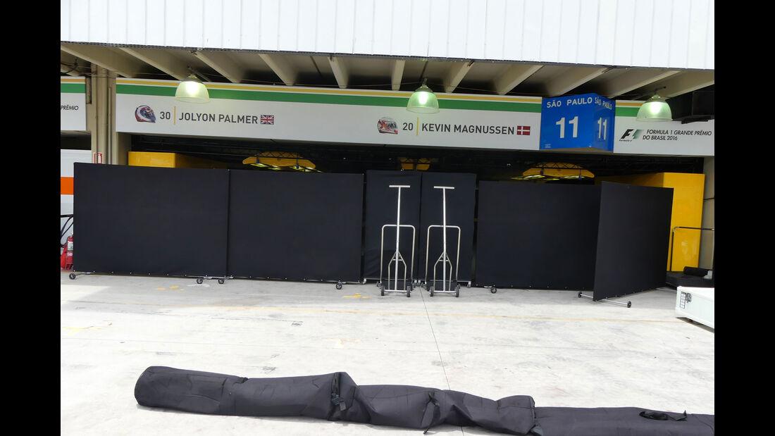 Renault - GP Brasilien 2016 - Sao Paulo - Interlagos - Mittwoch - 9.11.2016