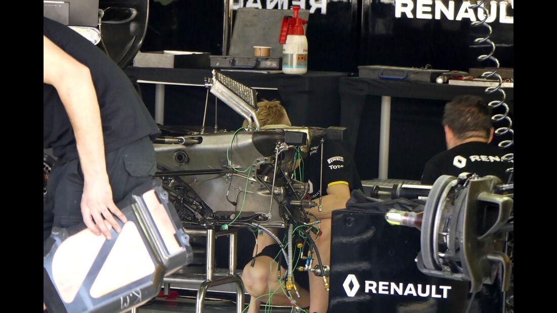 Renault - GP Brasilien - Sao Paulo - Interlagos - Donnerstag - 10.11.2016