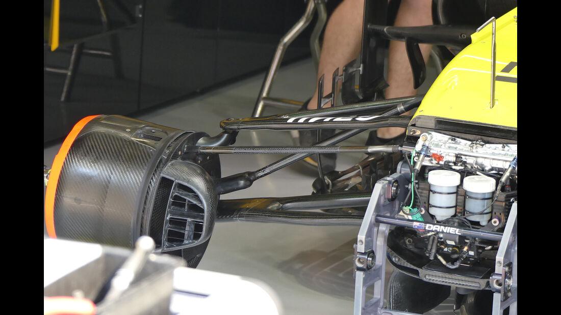 Renault - GP China - Shanghai - Formel 1 - Freitag - 12.4.2019