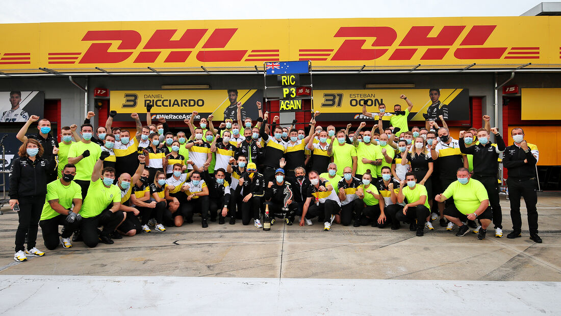 Renault - GP Emilia-Romagna 2020 - Imola - Rennen