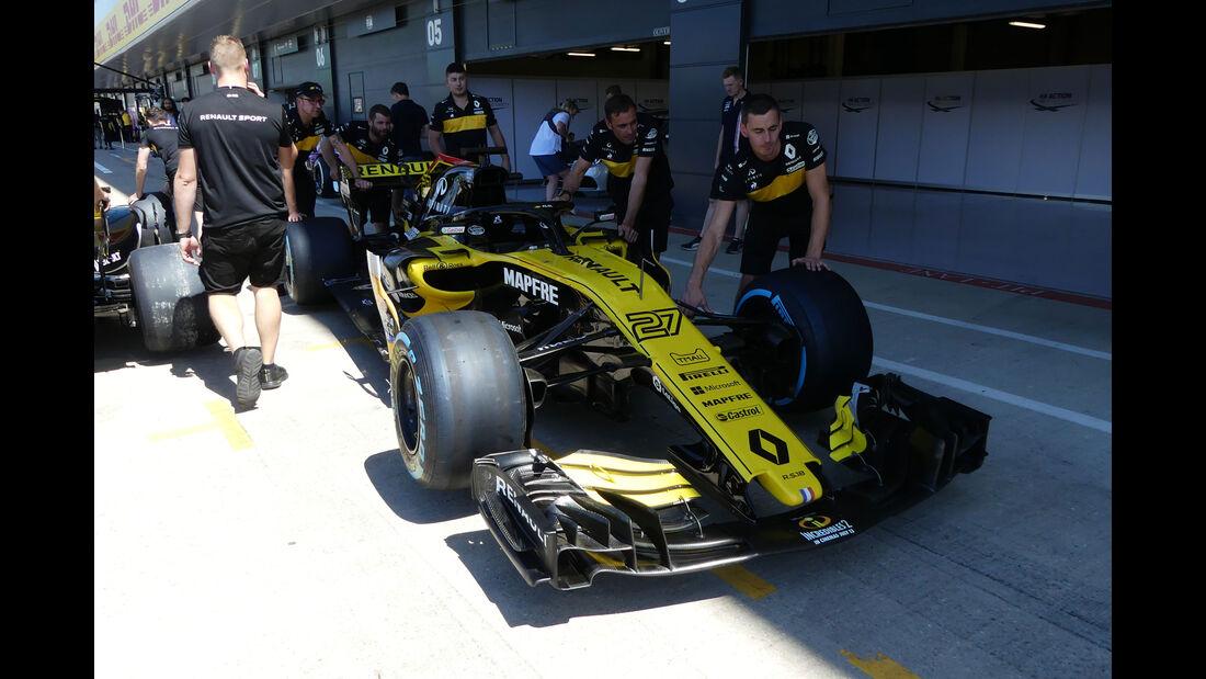 Renault - GP England - Silverstone - Formel 1 - Donnerstag - 5.7.2018