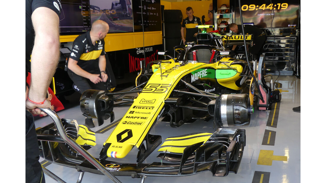 Renault - GP England - Silverstone - Formel 1 - Freitag - 6.7.2018