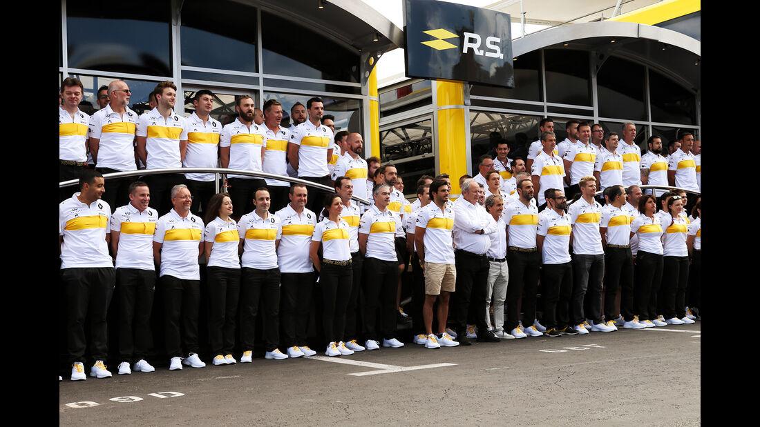 Renault - GP Frankreich 2018