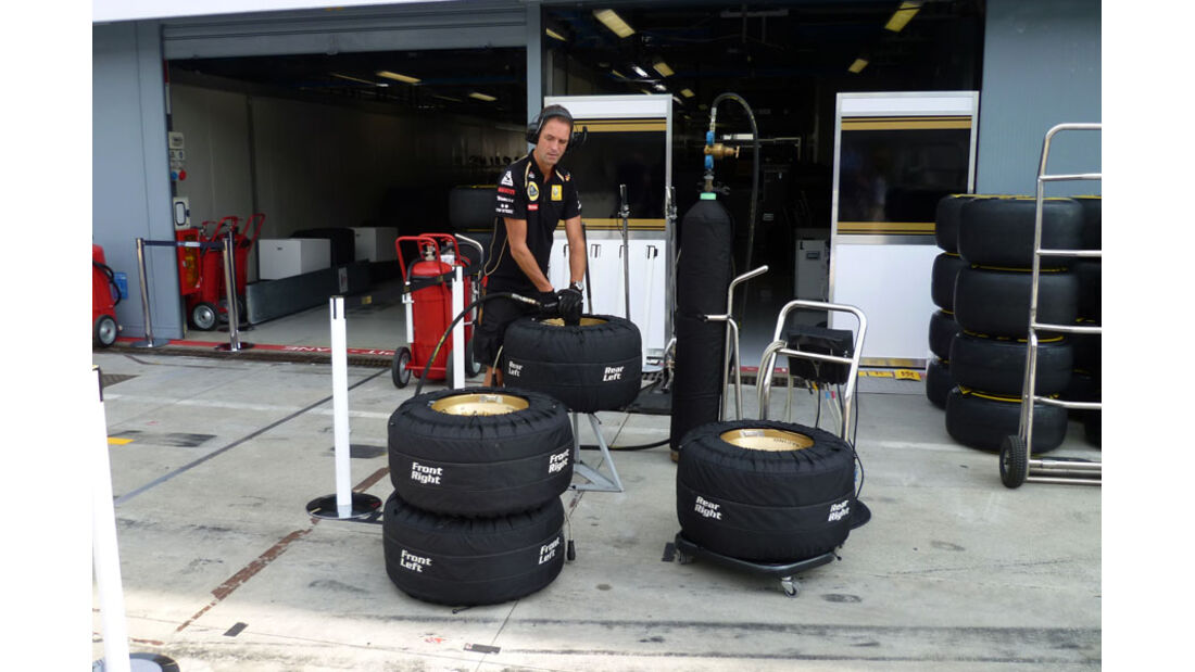 Renault - GP Italien - 8. September 2011