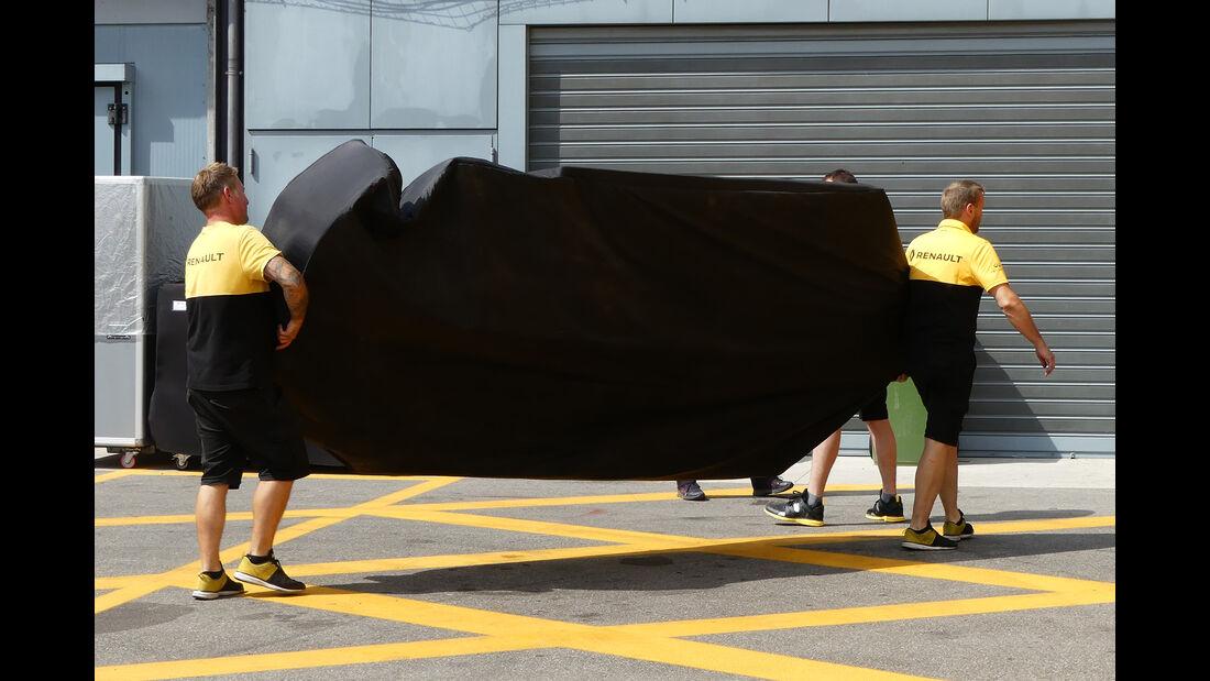 Renault - GP Italien - Monza - Formel 1 - 31. August 2017