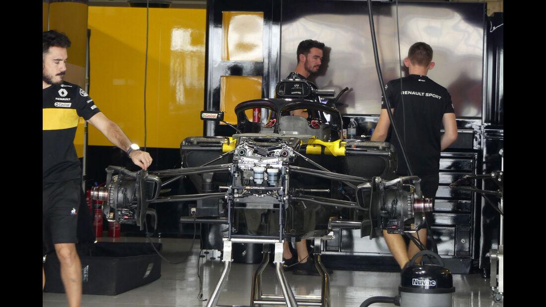 Renault - GP Japan - Suzuka - Mittwoch - 3.10.2018