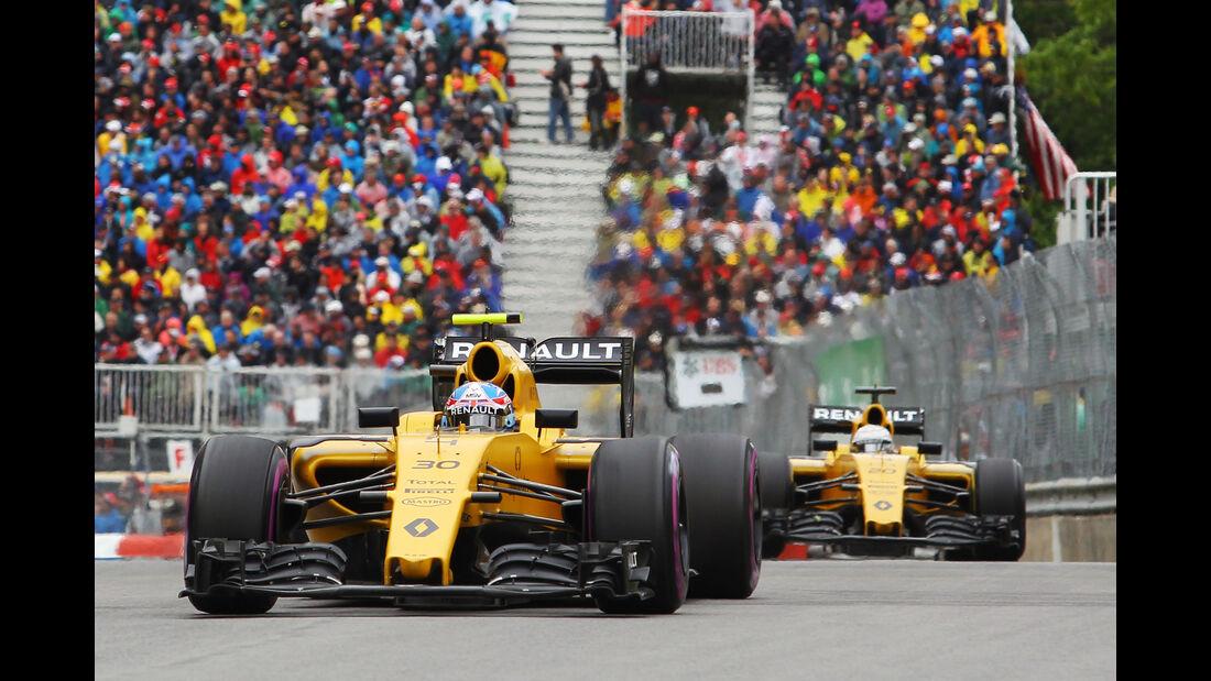 Renault - GP Kanada 2016