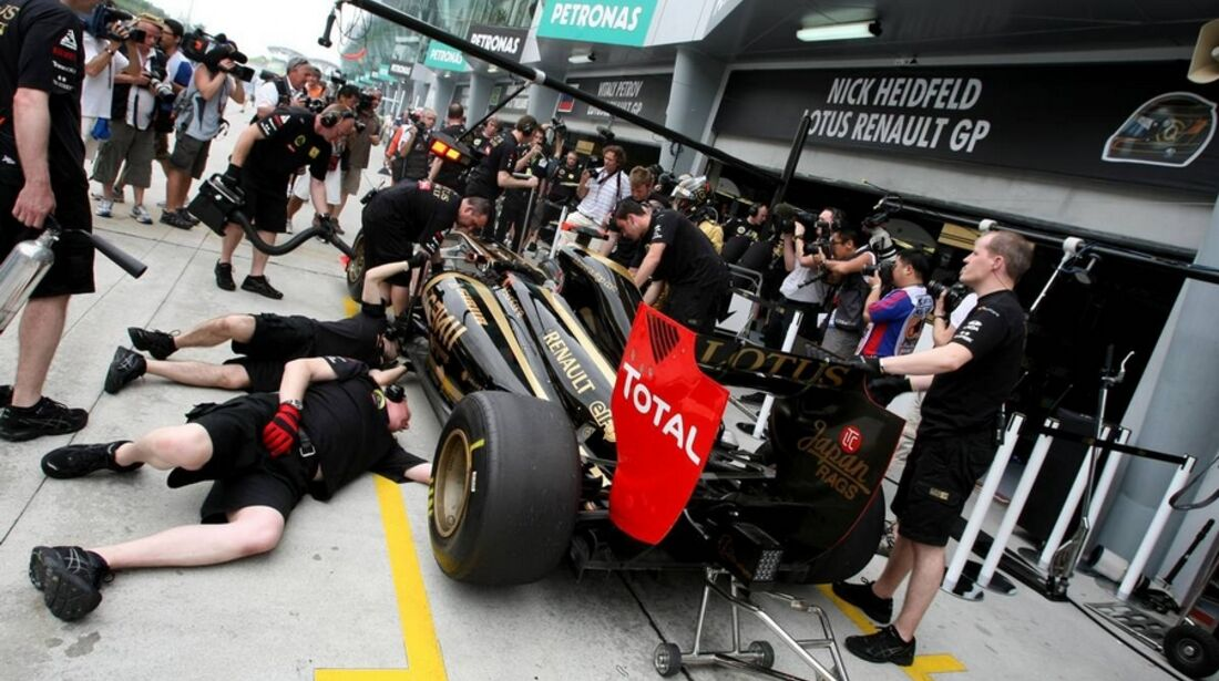 Renault GP Malaysia 2011 Formel 1