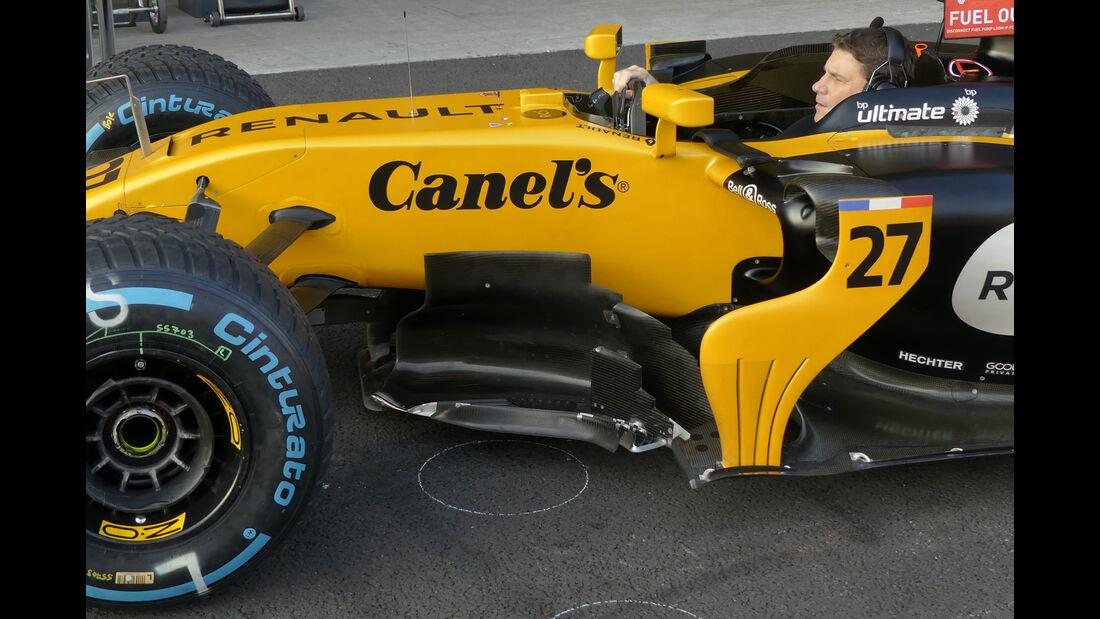 Renault - GP Mexiko 2017 - Technik-Updates