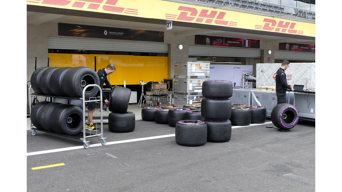 Renault - GP Mexiko - Formel 1 - Mittwoch - 25.10.2017