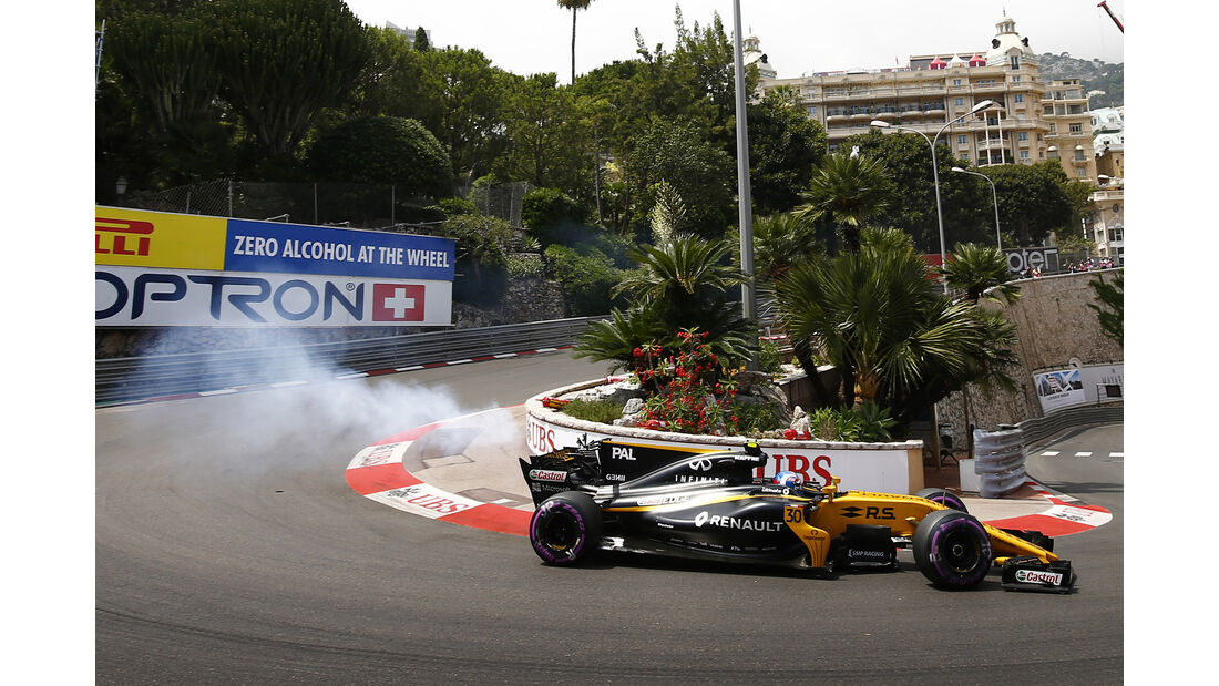 Renault - GP Monaco - Formel 1 - 2017