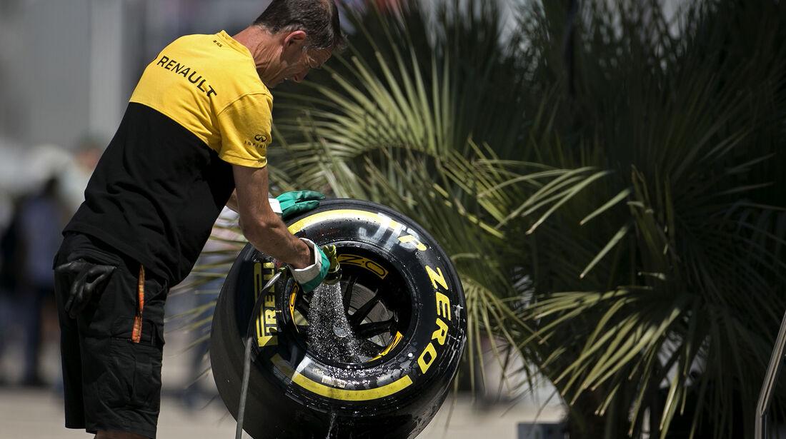 Renault - GP Russland - Sotschi  - Formel 1 - 28. April 2017