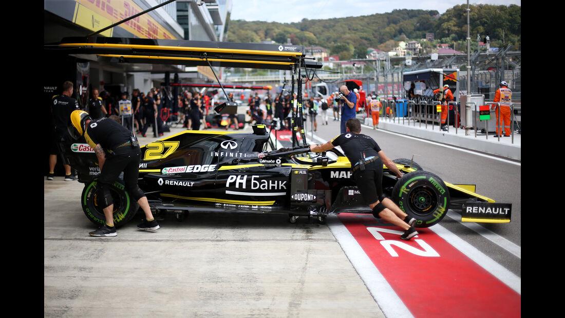 Renault - GP Russland - Sotschi - Formel 1 - Freitag - 27.9.2019