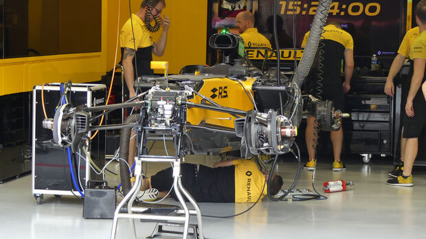 Renault - GP Singapur - Formel 1 - Donnerstag - 14.9.2017