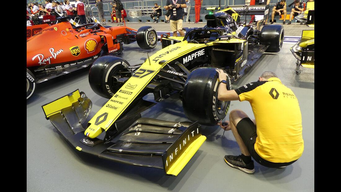 Renault - GP Singapur - Formel 1 - Donnerstag - 19.9.2019