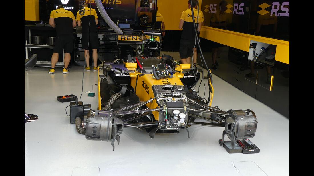 Renault - GP Singapur - Formel 1 - Freitag - 15.9.2017