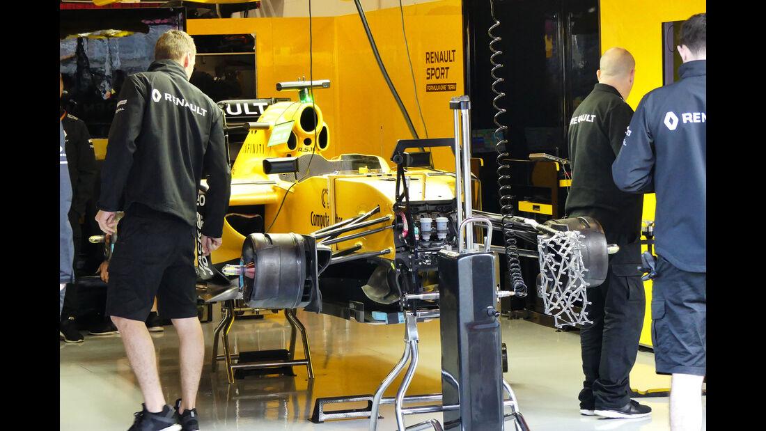 Renault - GP Spanien 2016 - Barcelona - F1 - Freitag - 13.5.2016