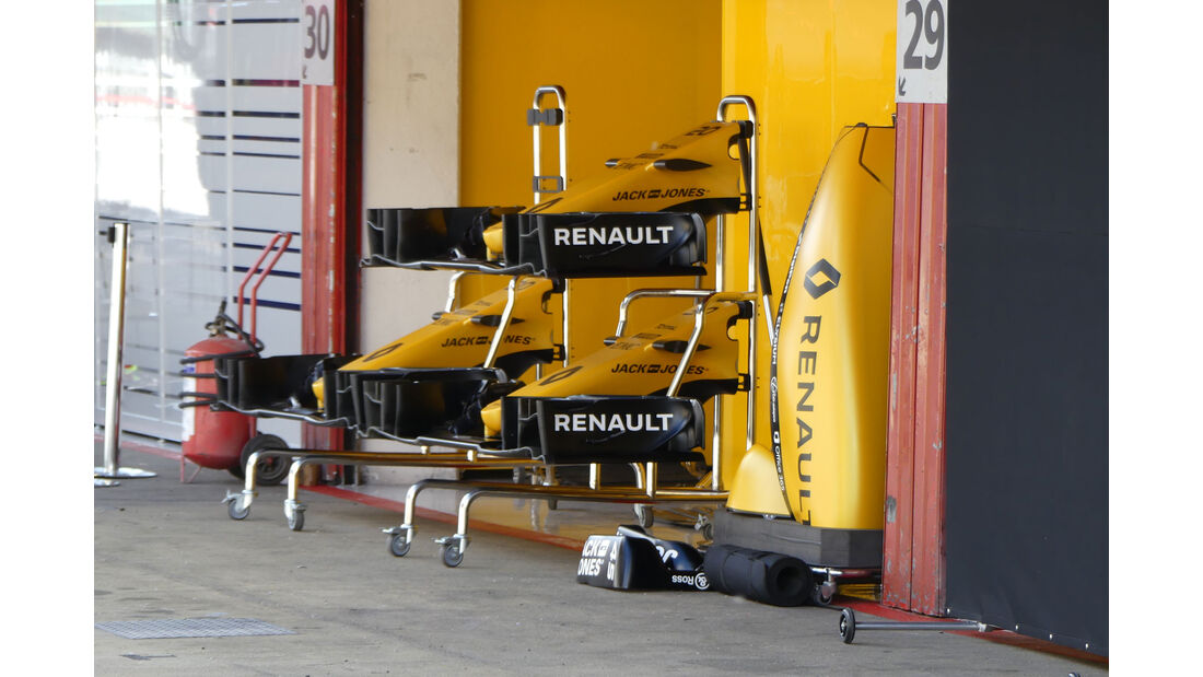 Renault - GP Spanien - Circuit de Barcelona-Catalunya - Mittwoch - 11. Mai 2016